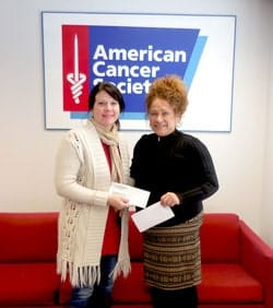 American Institute Donates to Breast Cancer Fight