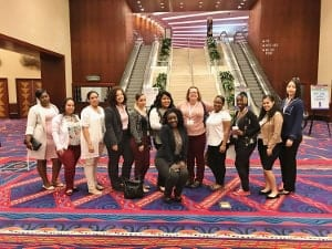 Dental Assisting students and faculty attending Charter Oak Dental Conference 2017